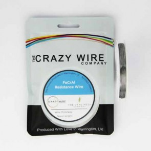 0.35mm (27 AWG) KA1 (FeCrAl A1) Wire - 14.69 ohms/m