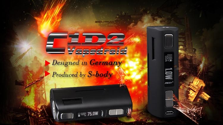 VapeDroid C1D2 Black
